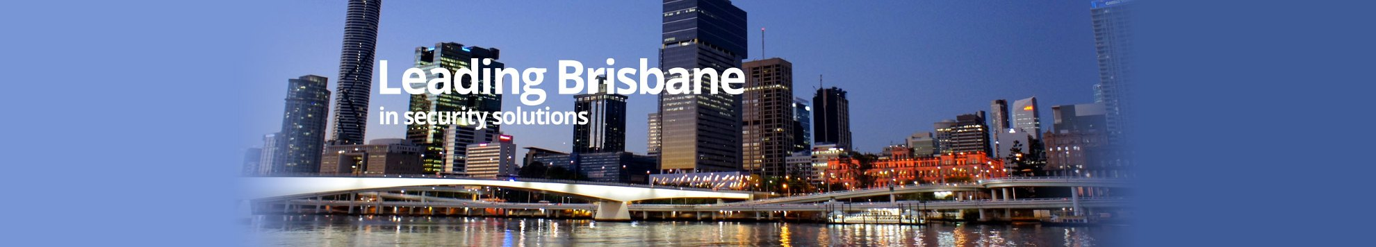 Leading Brisbane in commercial security