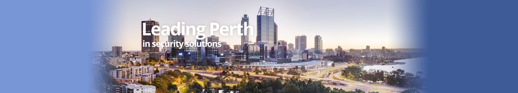 Leading Perth in commercial security