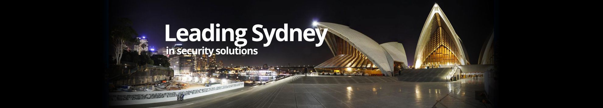 Leading Sydney in commercial security